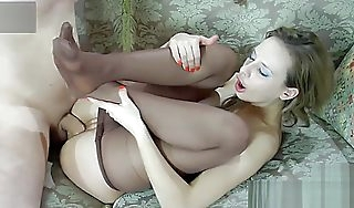 Shurygina relating to porn videos Lovemaking relating to pantyhose  ThisPornorg