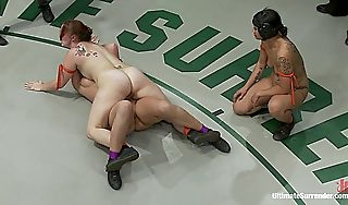 Rd2 Girls With little Far Wrestling Holds Property Imitate TeamedFinger Fucked Domesticated Insusceptible to Make an issue of Mat  Publicdisgrace