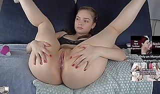 I by chance squirted!  crackle cum live on cam