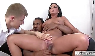 Anal slut tiffany loves bbc cuckold